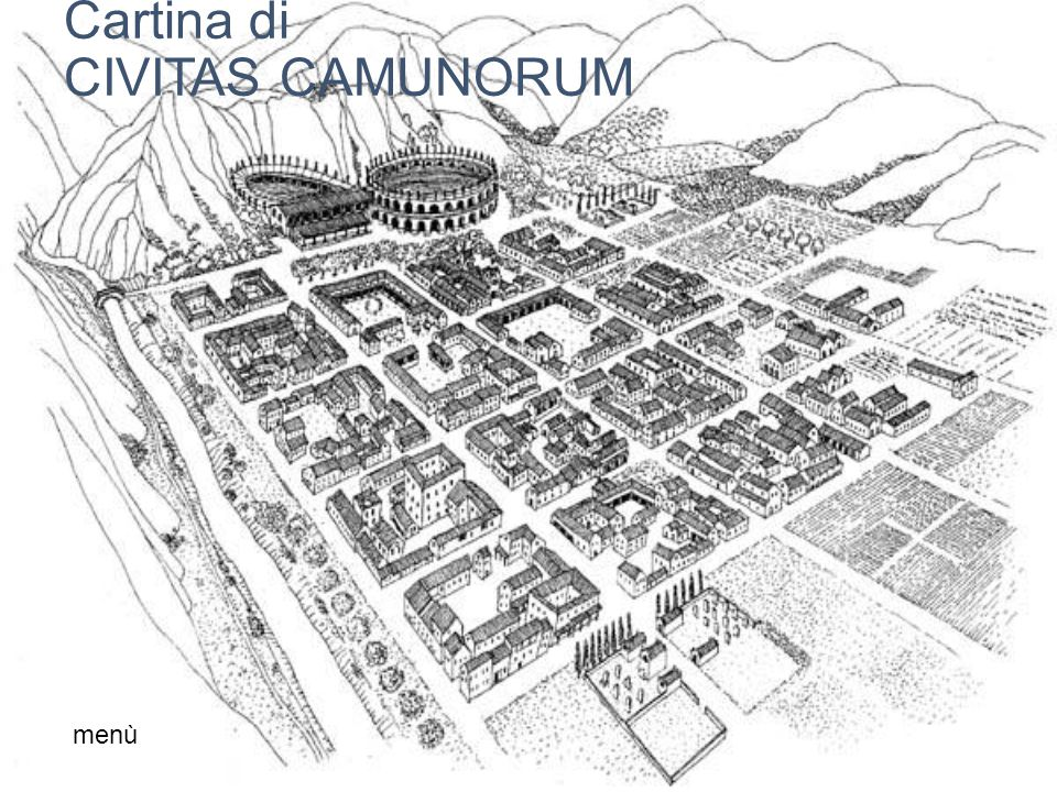 Cartina di CIVITAS CAMUNORUM