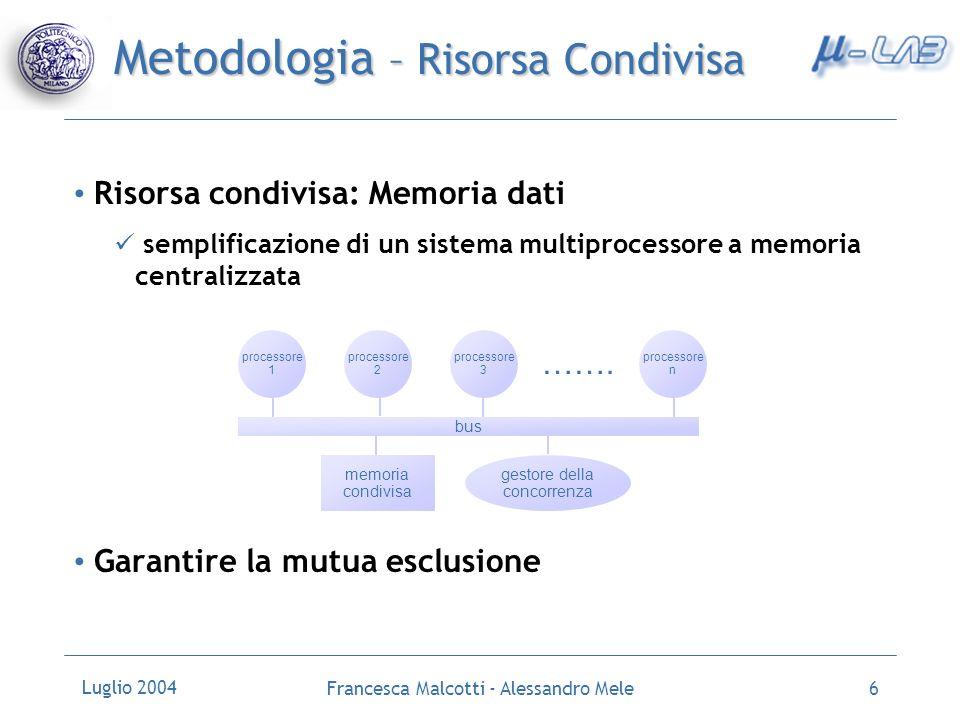Metodologia – Risorsa Condivisa