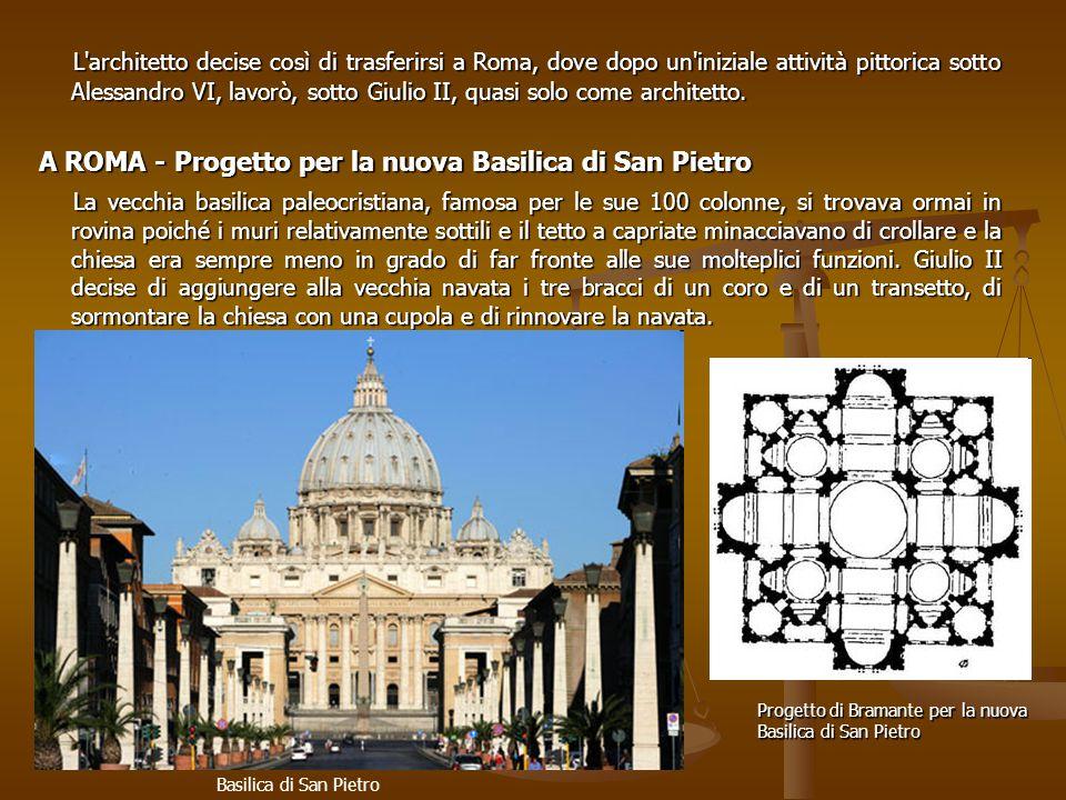 A ROMA - Progetto per la nuova Basilica di San Pietro