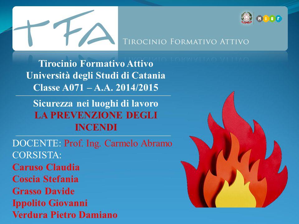 Tirocinio Formativo Attivo Università degli Studi di Catania