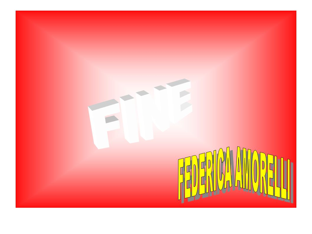 FINE FEDERICA AMORELLI