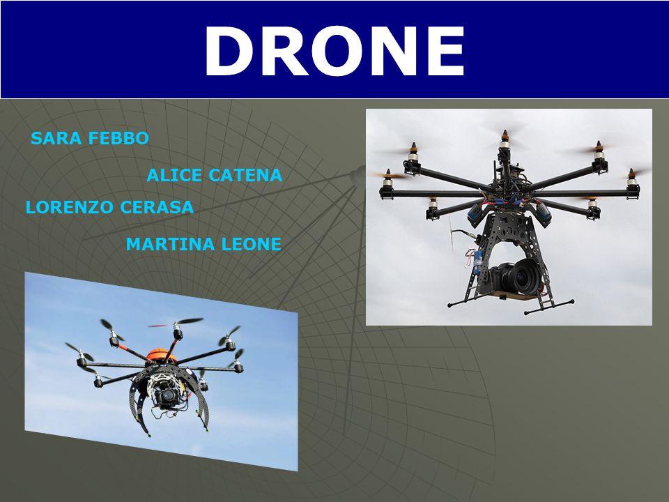 DRONE SARA FEBBO ALICE CATENA LORENZO CERASA MARTINA LEONE