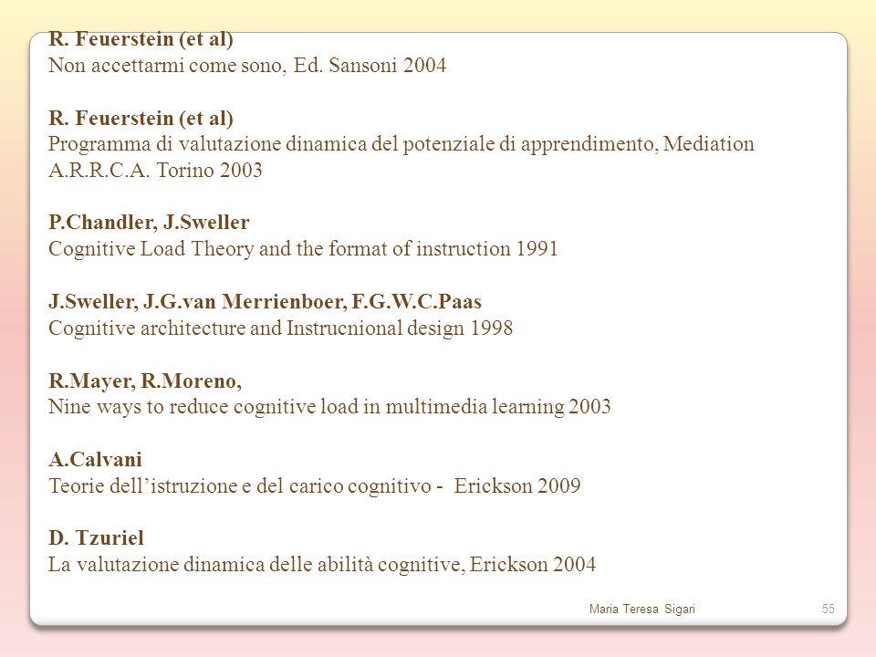 Non accettarmi come sono, Ed. Sansoni 2004