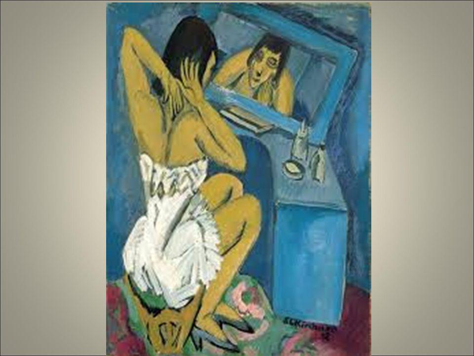 Kirchner, la toilette 1912.