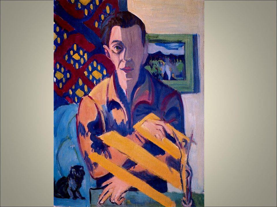 Kirchner autoritrato malato 1931