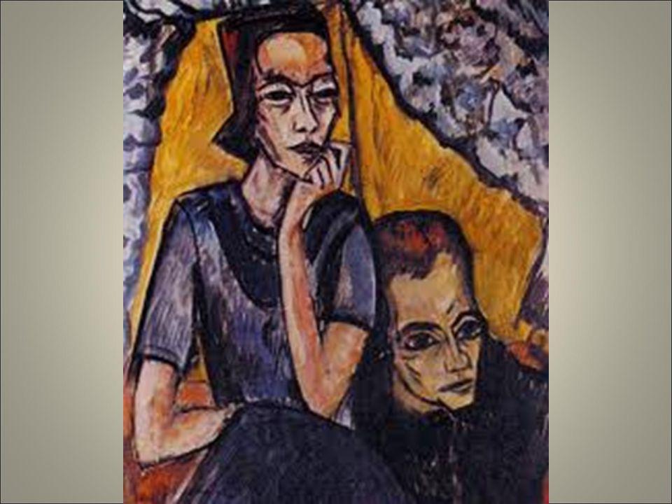 Heckel fratello e sorella 1911. ambiguità legame familiare. Incomunic