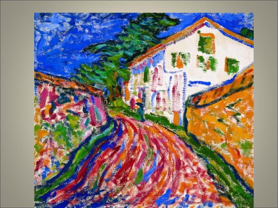 Heckel paesaggio con casa bianca