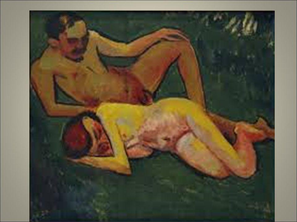 Pechstein.anche le sue opere come quelle dei suoi compagni verranno considerare degenerate dai nazisti che vietano loro di lavorare.