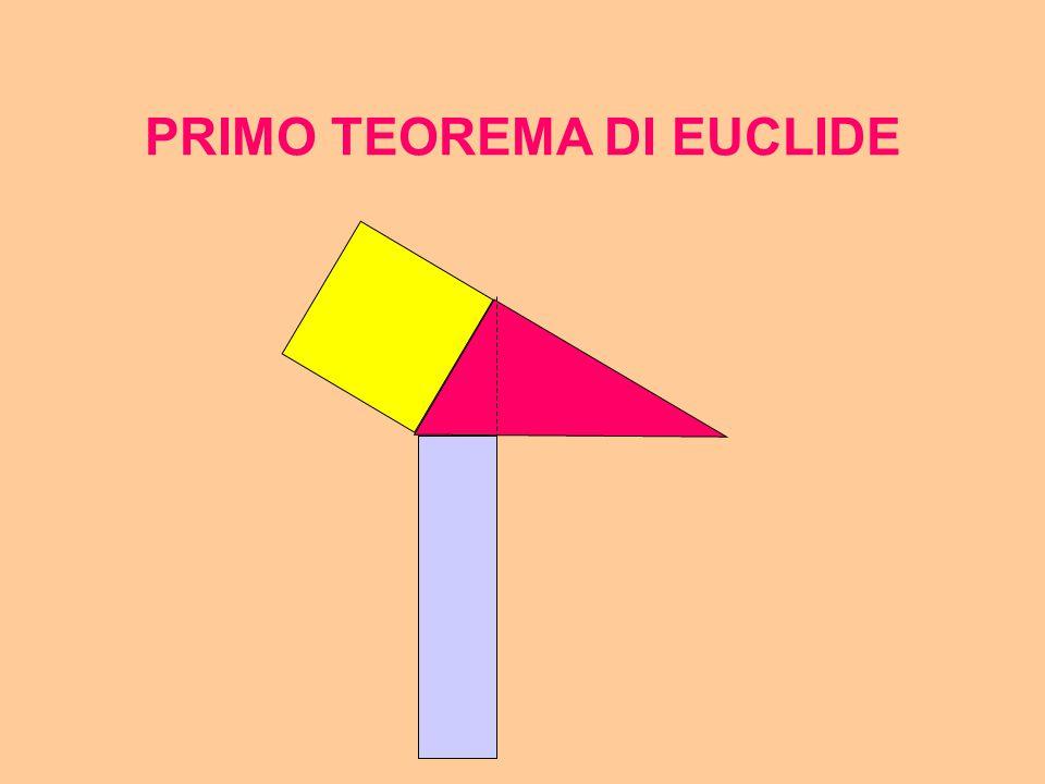 PRIMO TEOREMA DI EUCLIDE