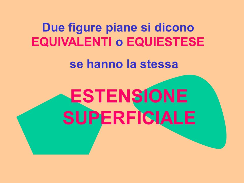ESTENSIONE SUPERFICIALE