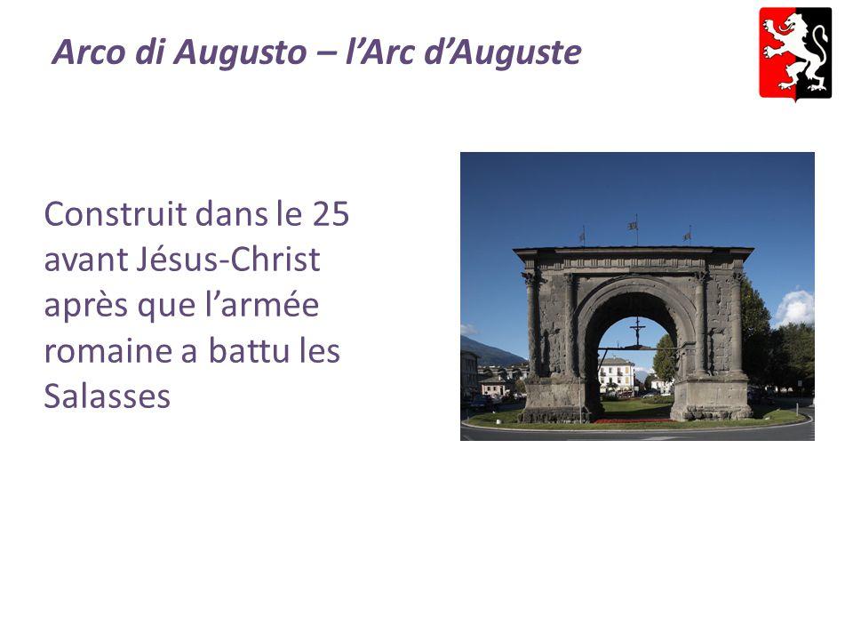Arco di Augusto – l'Arc d'Auguste