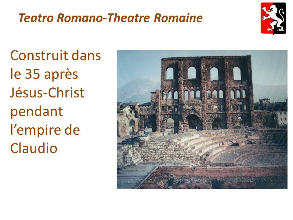 Teatro Romano-Theatre Romaine