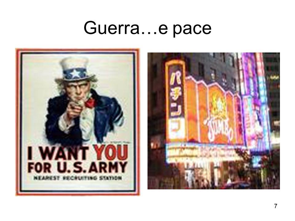 Guerra…e pace 7