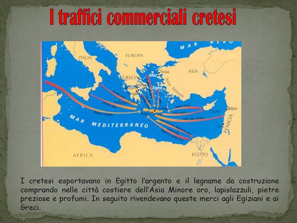 I traffici commerciali cretesi
