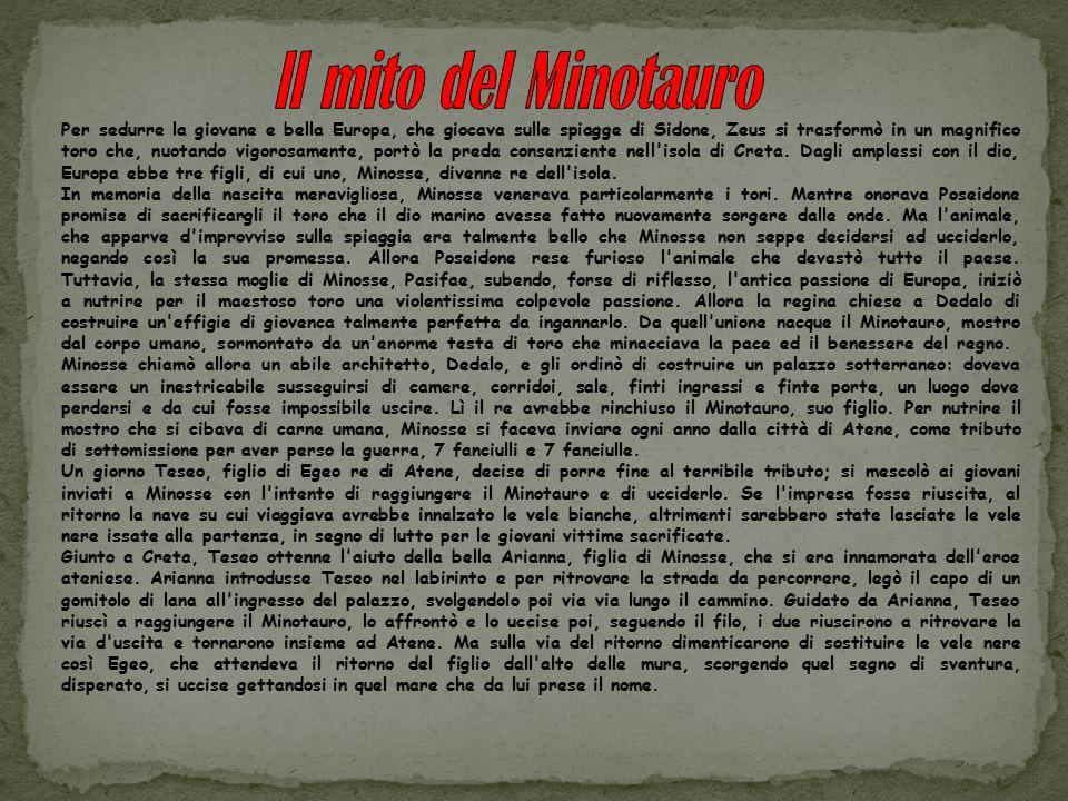 ll mito del Minotauro