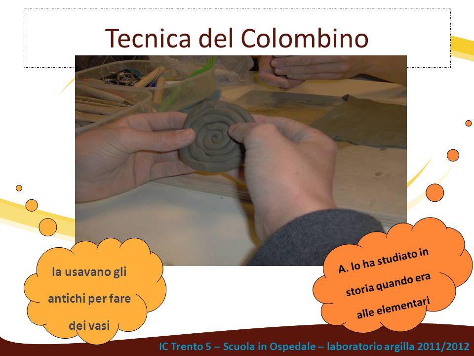 Tecnica del Colombino la usavano gli antichi per fare dei vasi
