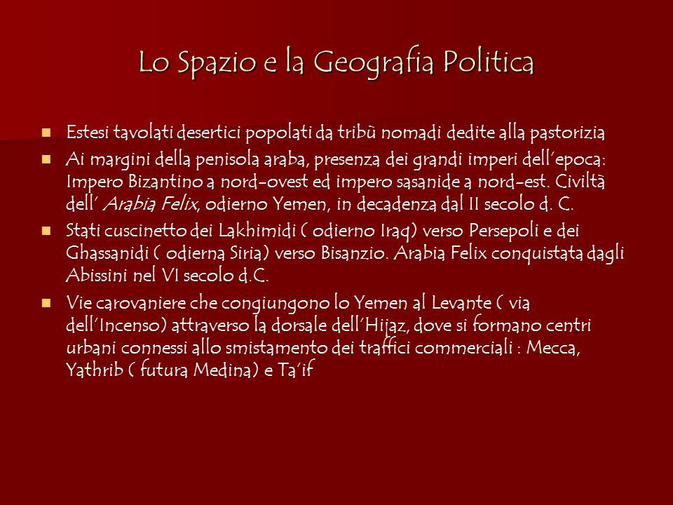 Lo Spazio e la Geografia Politica