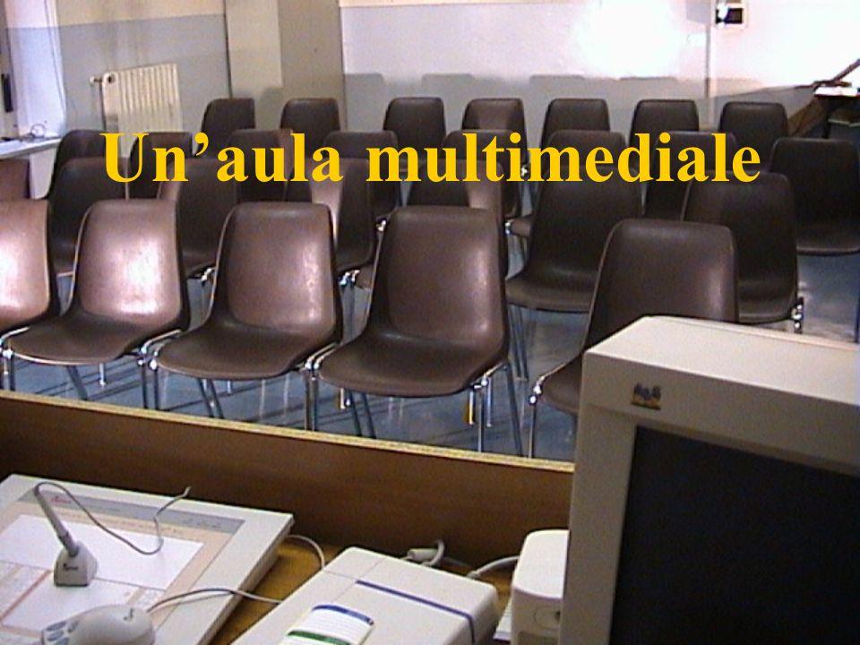 Un'aula multimediale