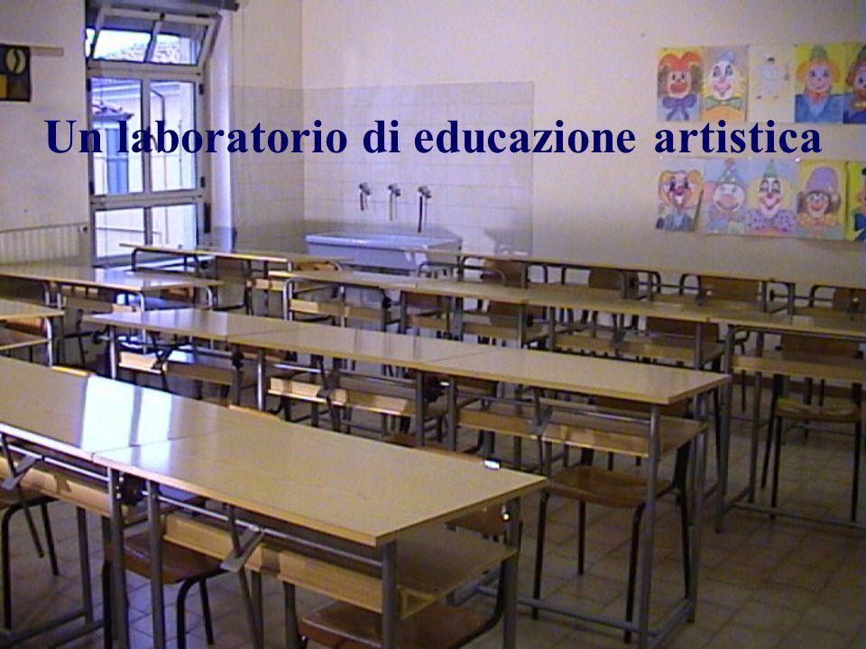 Un laboratorio di educazione artistica