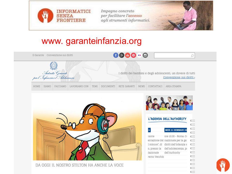 www. garanteinfanzia.org