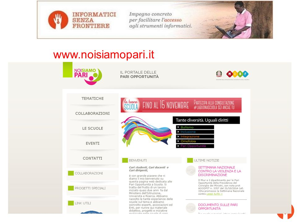 www.noisiamopari.it