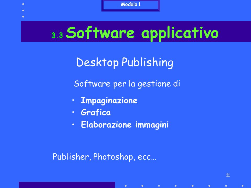 Desktop Publishing Software per la gestione di Impaginazione Grafica