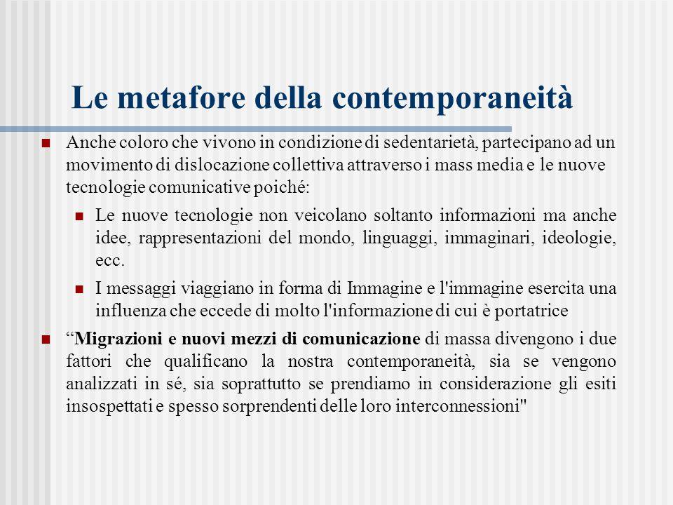 Le metafore della contemporaneità