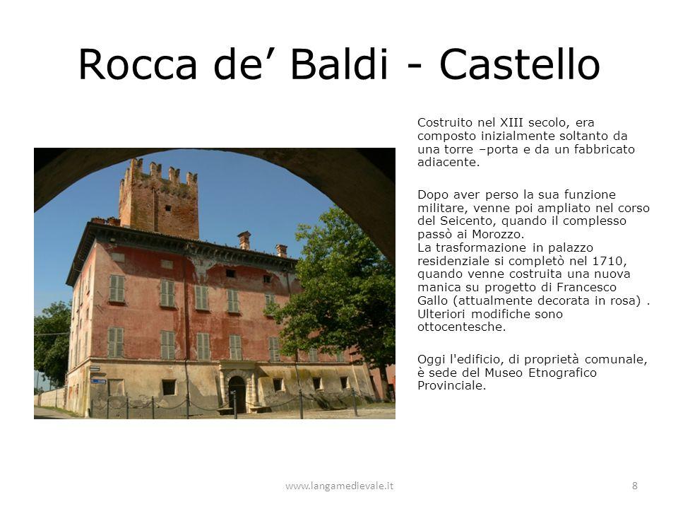Rocca de' Baldi - Castello