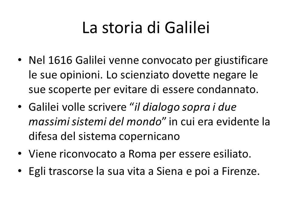 La storia di Galilei