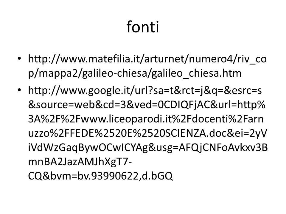 fonti http://www.matefilia.it/arturnet/numero4/riv_cop/mappa2/galileo-chiesa/galileo_chiesa.htm.