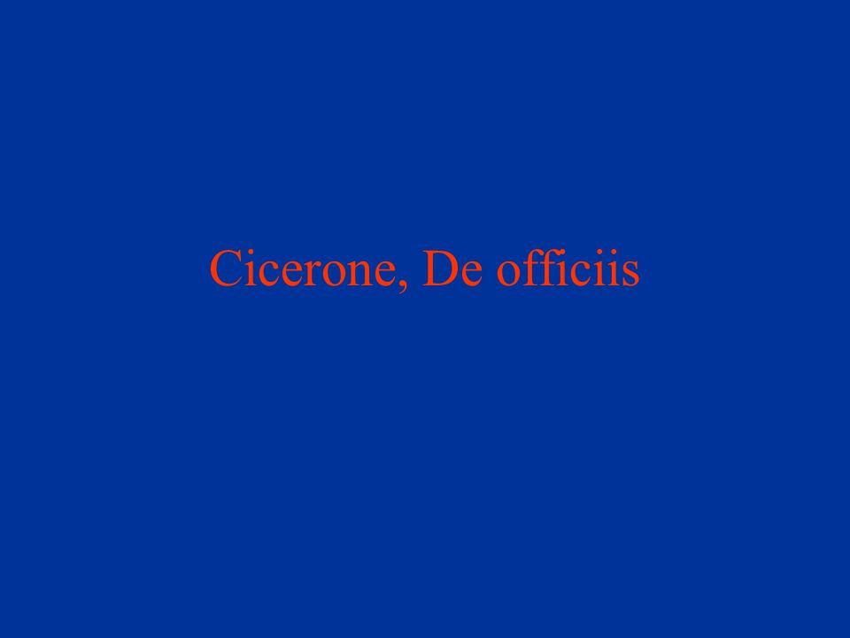 Cicerone, De officiis