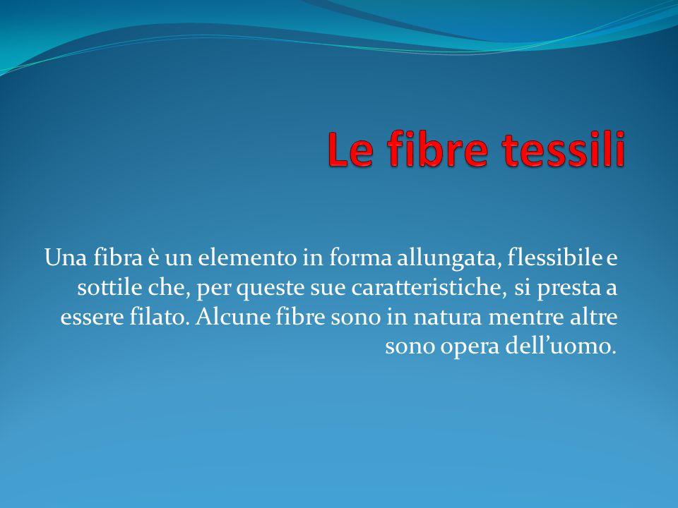 Le fibre tessili