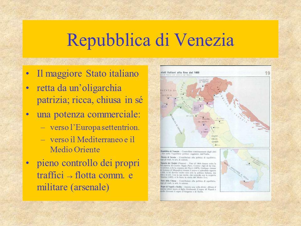Repubblica di Venezia Il maggiore Stato italiano