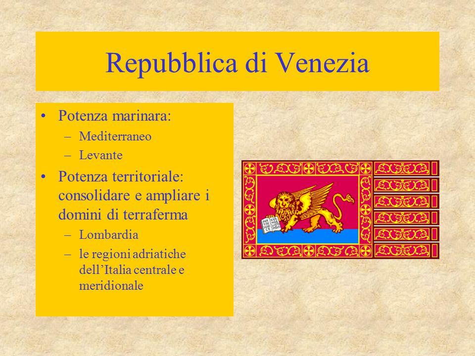 Repubblica di Venezia Potenza marinara: