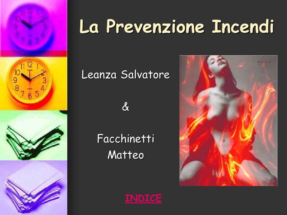 La Prevenzione Incendi