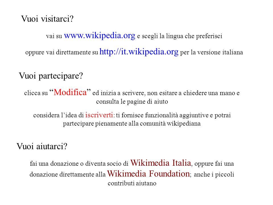 vai su www.wikipedia.org e scegli la lingua che preferisci