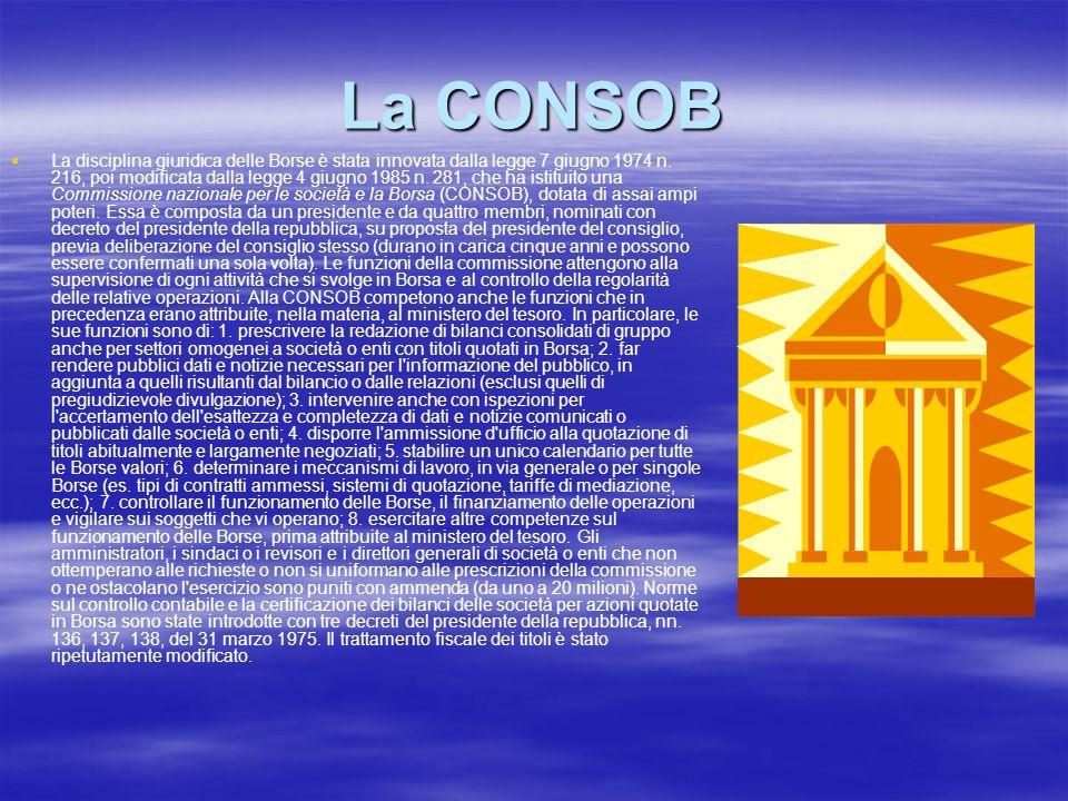 La CONSOB