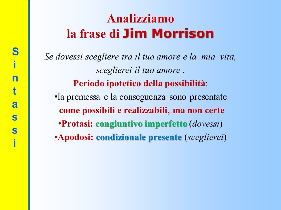 la frase di Jim Morrison