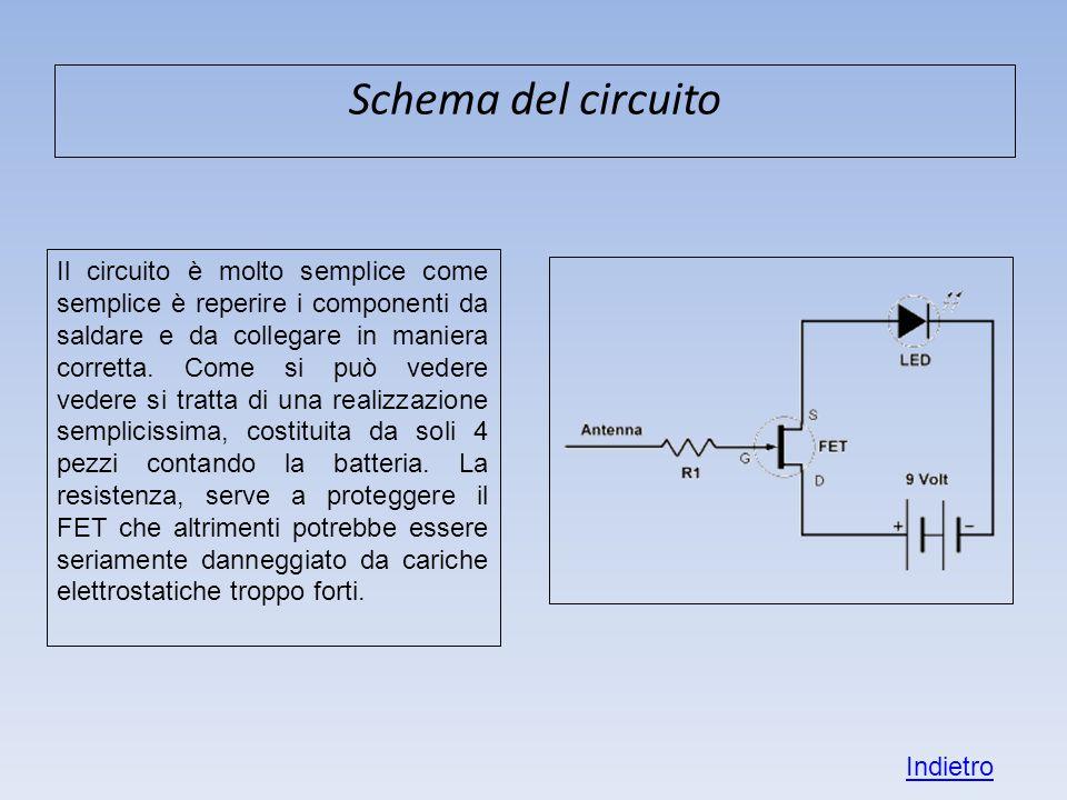 Schema del circuito