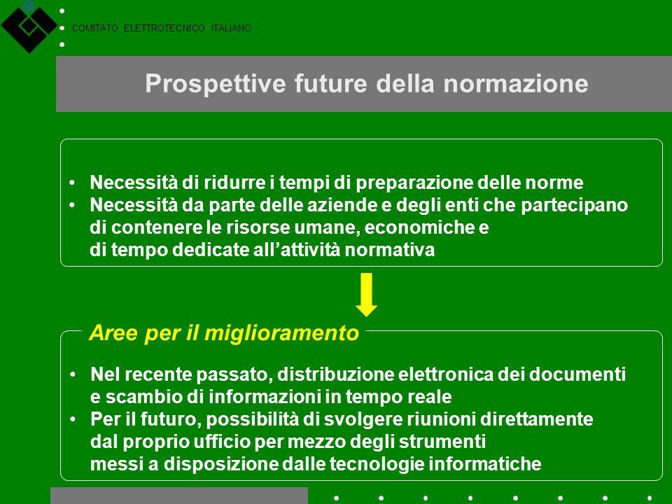 Prospettive future della normazione