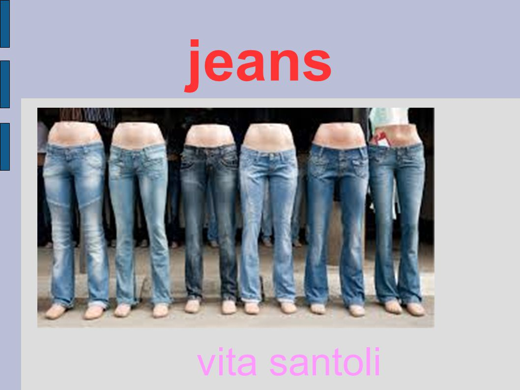 jeans vita santoli