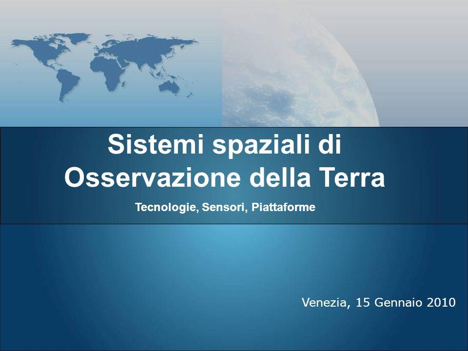 Sistemi spaziali di Osservazione della Terra