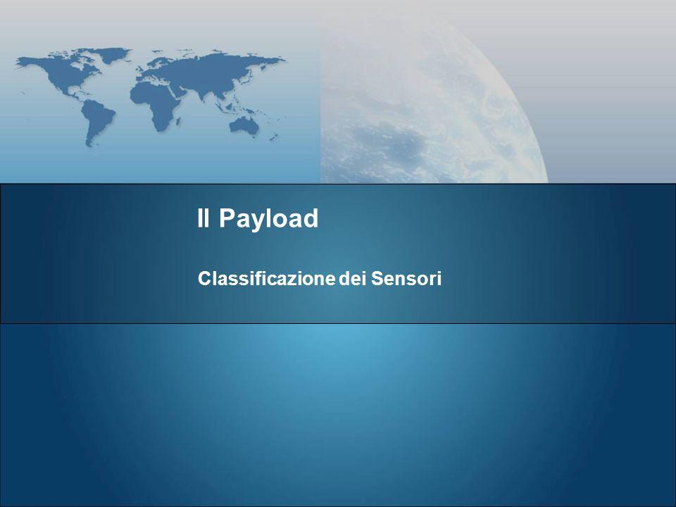 Classificazione dei Sensori