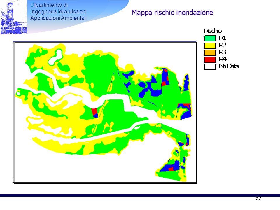 Mappa rischio inondazione
