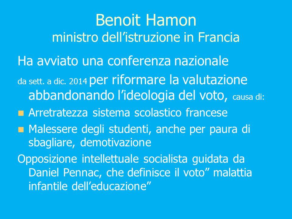 Benoit Hamon ministro dell'istruzione in Francia