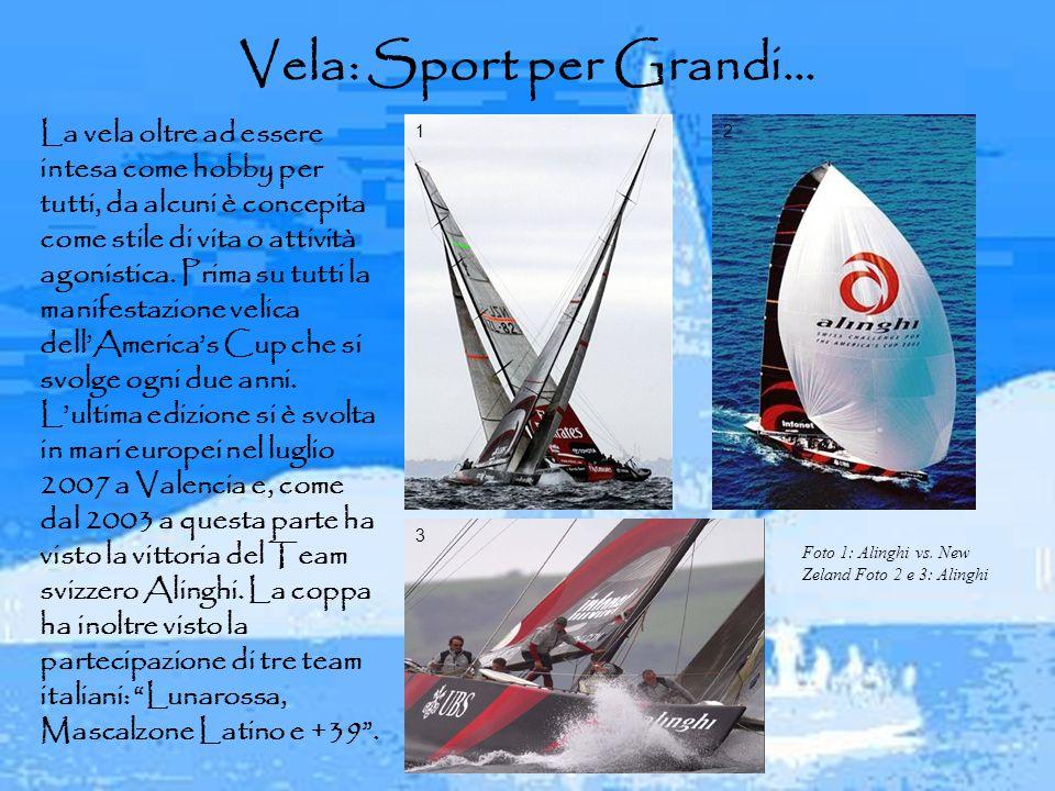 Vela: Sport per Grandi…
