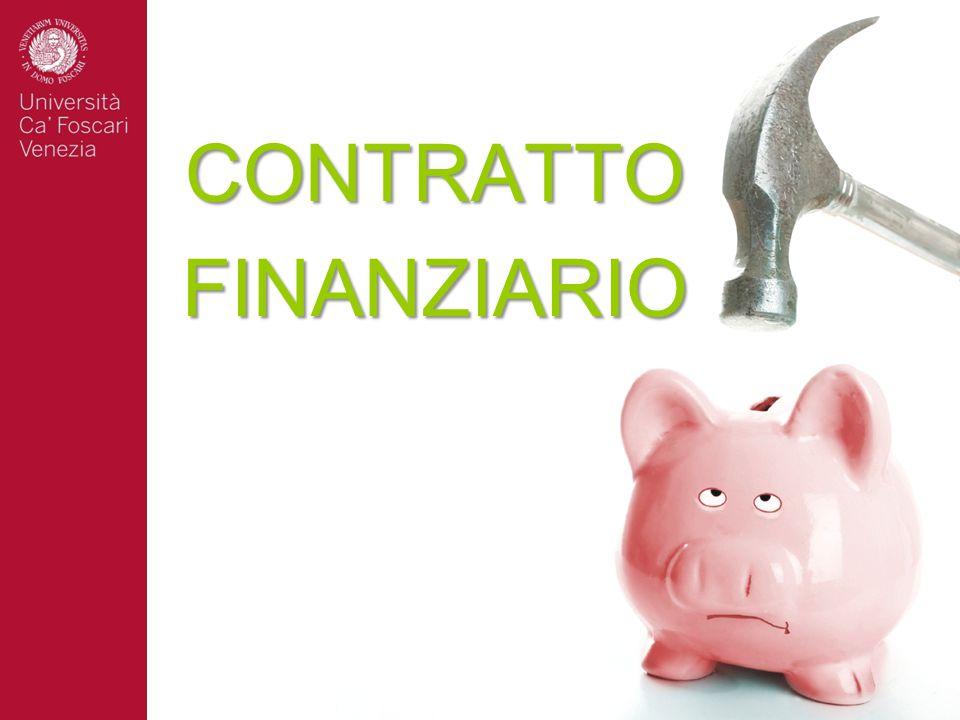 CONTRATTO FINANZIARIO
