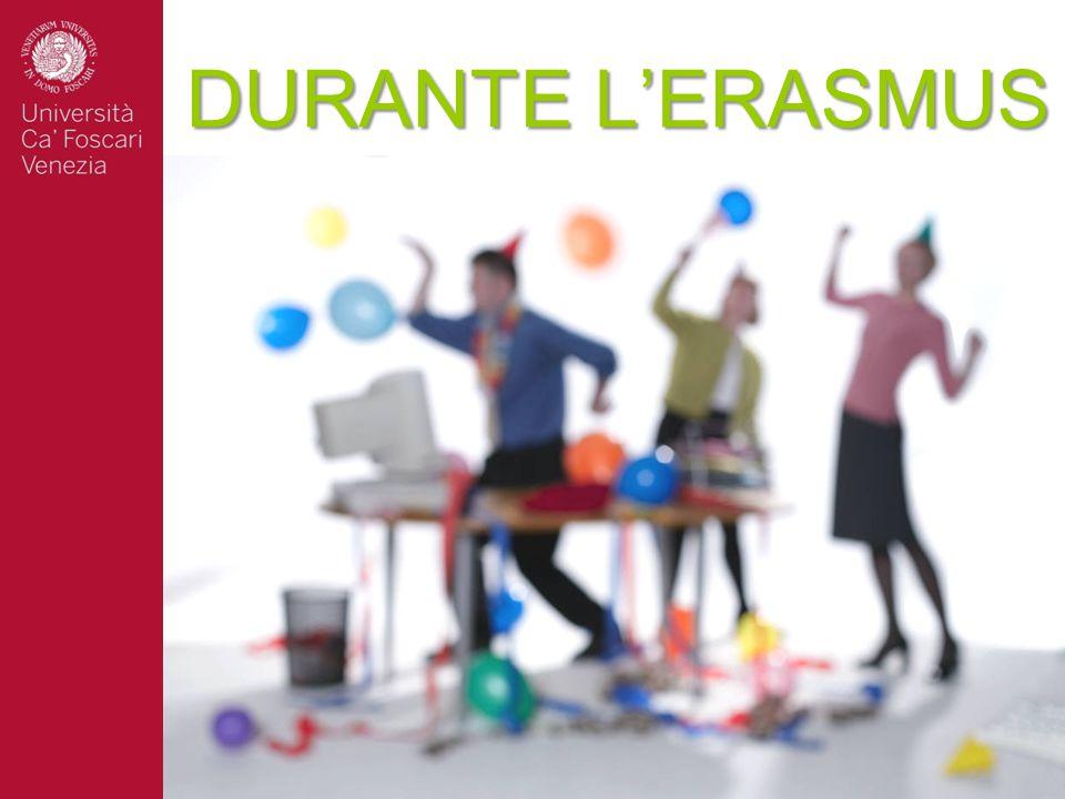 DURANTE L'ERASMUS