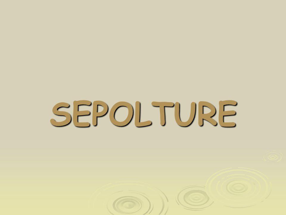 SEPOLTURE
