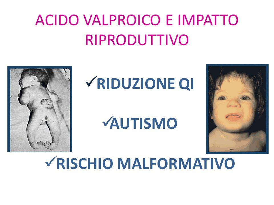 ACIDO VALPROICO E IMPATTO RIPRODUTTIVO